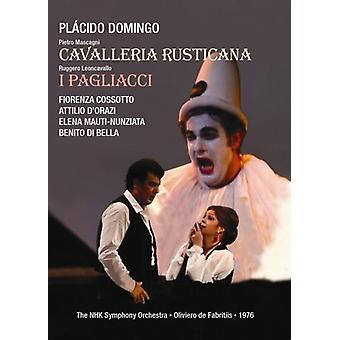 Cavalleria Rusticana [DVD] EUA importar