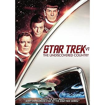 Importación de Trek 6-Undiscovered país [DVD] USA estrella