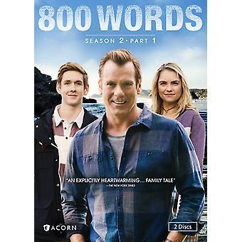 800 parole: importazione di stagione 2 parte 1 [DVD] Stati Uniti d'America