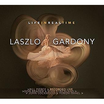 Laszlo Gardony - Life in Real Time [CD] USA import