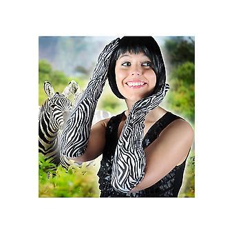 Handschuhe-Frauen-Handschuhe-Zebra