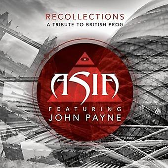 Asia - Recollections [CD] USA import