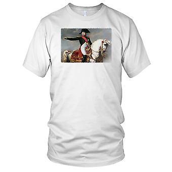 Napoleon Bonaparte på hest franske Kids T skjorte
