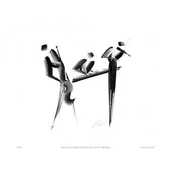 Trio Poster Print von Patrick Ciranna (16 x 12)