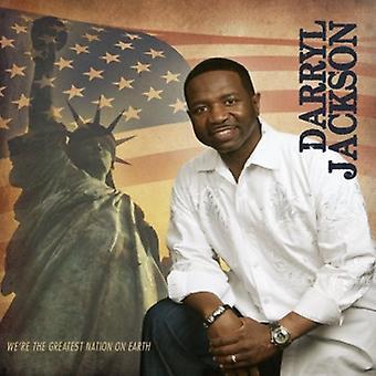 Darryl Jackson - olemme suurin kansakunta maan [CD] USA tuonti