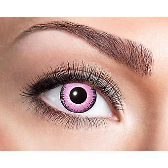 Pink Eyes Pink Girlie Kontaktlinse Manga