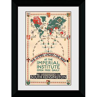 Transport For London imperium Under ét tag indrammet Collector Print