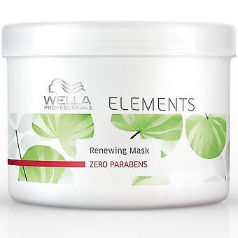 Éléments de Wella Professional renouvellement Masque 500ml