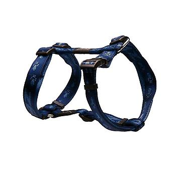 Rogz Alpinist Durable Soft Paw Design Dog H-Harness, Azul