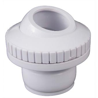 """Custom 25554-400-000 1"""" Insider DiRect.ional Flow Outlet - White"""