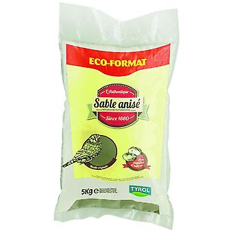 Tyrol Shell Sand With Aniseed 5Kg (Vogels , Strooisel)