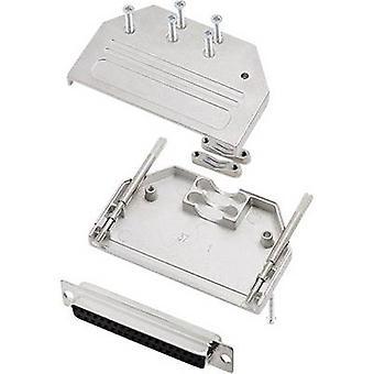 encitech DTZI37-DMS-K 6355-0077-34 D-SUB receptacle set 180 ° Number of pins: 37 Solder bucket 1 Set