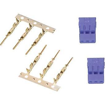 Modelcraft Servo socket suelto JR 1 Par