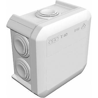 OBO Bettermann 2007432 Junction box (L x W x H) 90 x 90 x 52 mm Grey-white (RAL 7035) IP55