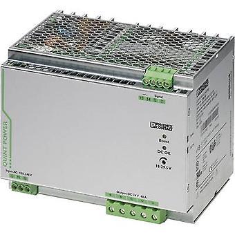 فينيكس الاتصال QUINT-PS/1AC/24DC/40 السكك الحديدية التي شنت PSU (DIN) 24 V DC 40 A 18 W 1 x