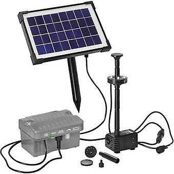 Esotec Palermo LED 101775 Solar pump set incl. lighting, incl. battery 330 l/h