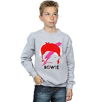 David Bowie pojkar Lightning Bolt skiss Sweatshirt
