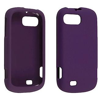 Ventev Soft Touch Snap-On Case for ZTE Chantel/N850L (Purple)
