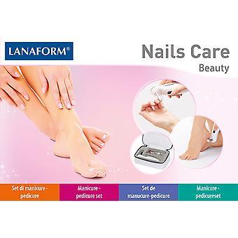 Lanaform Nails Care Manicure/Pedicure Set