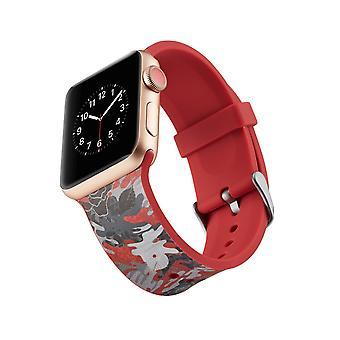 Siliconen horlogebandje voor Apple Watch 4 44mm, 3/2/1 42mm-cartoon