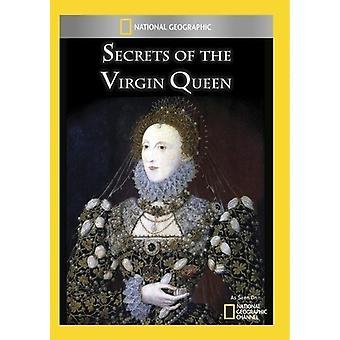 Secrets of the Virgin Queen [DVD] USA import