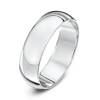 Star Wedding Rings Palladium 950 Heavy D 6mm Wedding Ring
