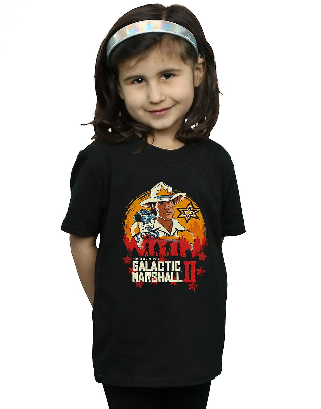 Vincent Trinidad Girls Red Galactic Marshall II T-Shirt