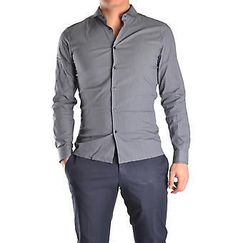 John Richmond Ezbc082078 Men's Blue Cotton Shirt