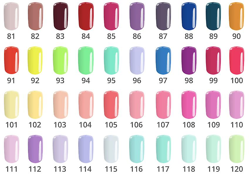 Gel polish-Flexy-* 01 4, 5G UV gel/LED
