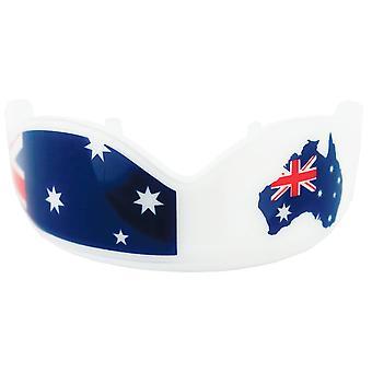 Boj s zubařem Austrálie pod dospělou osobou-bílá