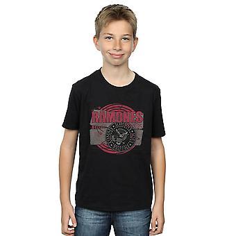 Ramones gutter Punk Patch t-skjorte