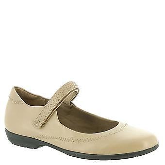 Walking Cradles Womens Jane2 Leather Closed Toe Mary Jane Flats