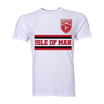 Mans Core fotball land T-Shirt (hvit)