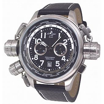 Aeromatic A1413 World Tour Chronograph Mens Watch