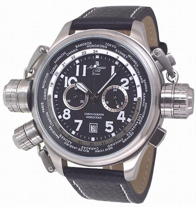 Aeromatic A1413 World Tour Chronograph Mens Watch