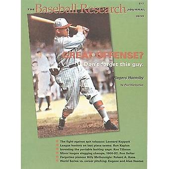 The Baseball Research Journal (BRJ) - Volume 28 by Society for America