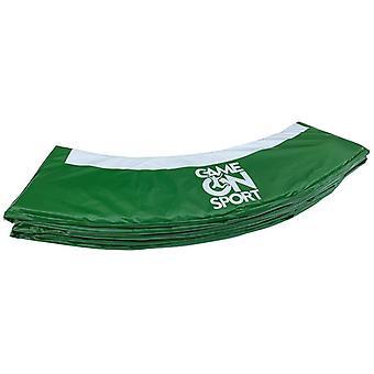 Spill på sport trampoline Shield 244 cm grønn/hvit