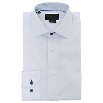 Duchamp of London Iconic Poplin Shirt, Blue