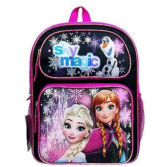 Medium Backpack - Disney - Frozen Sky Magic Black New FCCM65