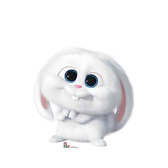 Snowball alkaen Secret Life of Pets 2 Pahvi Cutout / Standee / Standup