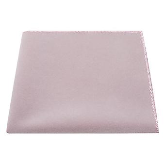 Luxury Lavender Pink Velvet Pocket Square, Lilac, Handkerchief
