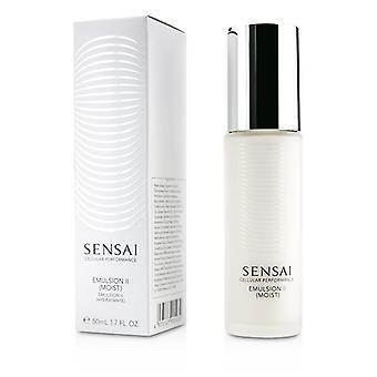 Kanebo Sensai Cellular Performance Emulsion Ii - Moist - 50ml/1.7oz