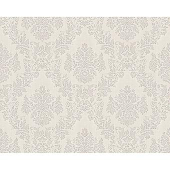 A.S. Creation AS Creation Classic Baroque Damask Pattern Floral Motif Textured Wallpaper 304952