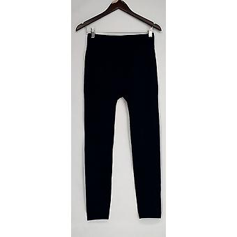 Kate & Mallory leggings naadloze legging w/fleece voering blauw A428086