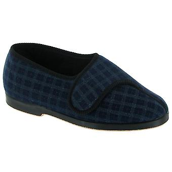 GBS Mens Hamish Touch Fastening Bootee Blue