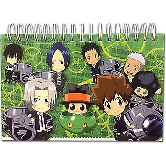 Notebook - Reborn! - New SD Vongola Hardcover Spiral Stationery Anime ge43541