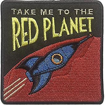 Patch - C&D - Space Out - Red Planet New Iron-On p-dsx-4817
