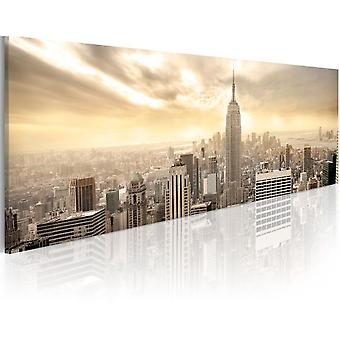 Artgeist Canvas Print New York City Among The Clouds