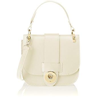 Chicca Bags 1528 Handbag Women Beige 19x17x7cm (W x H x L)