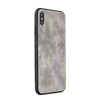 FORCELL Denim Hülle für Samsung A40-Grey